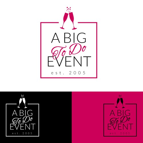 Elegant logo for Event Planning