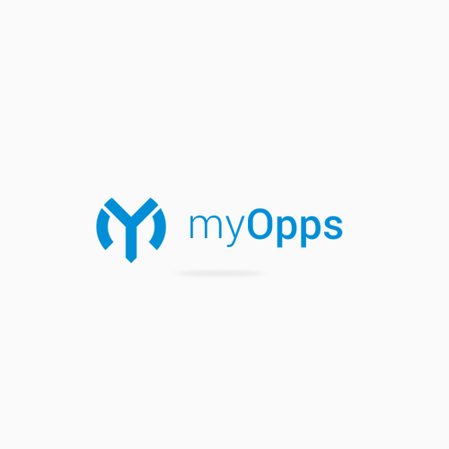 logo concept for myOpps