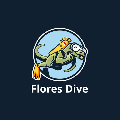 Local Dive Shop in Komodo, Flores, Needs Your Awesome Design!