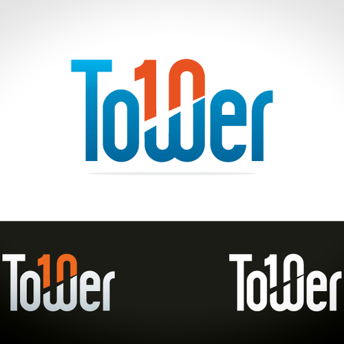 Tower10 logo design