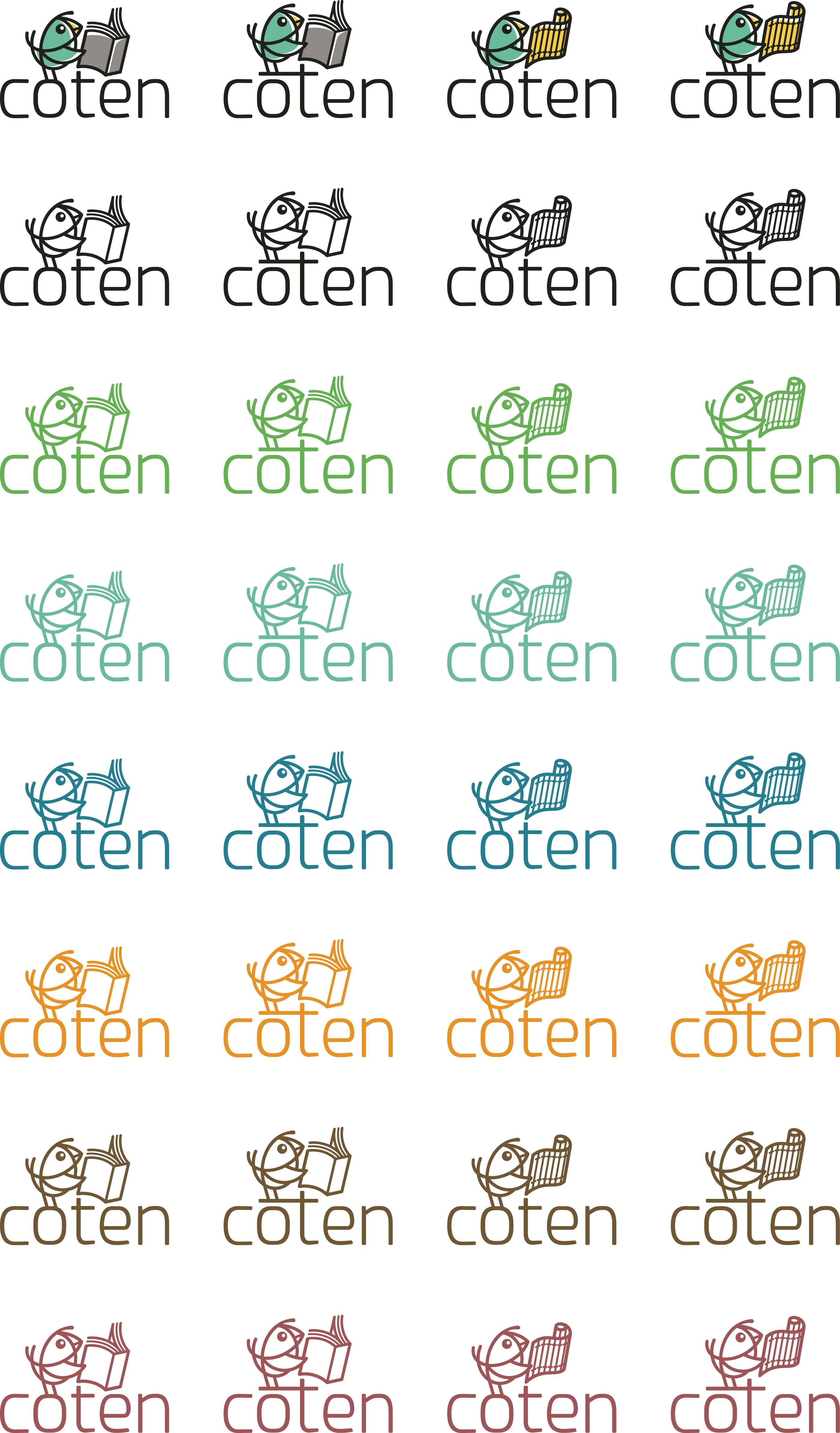 the company [coten][COTEN] logo with animal.