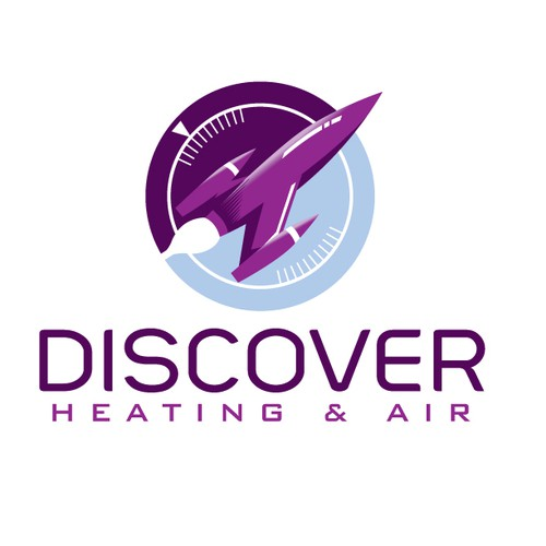 Discover Heating and Air needs a new logo