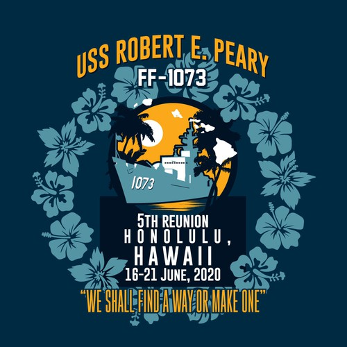T-shirt for USS Robert E. Peary