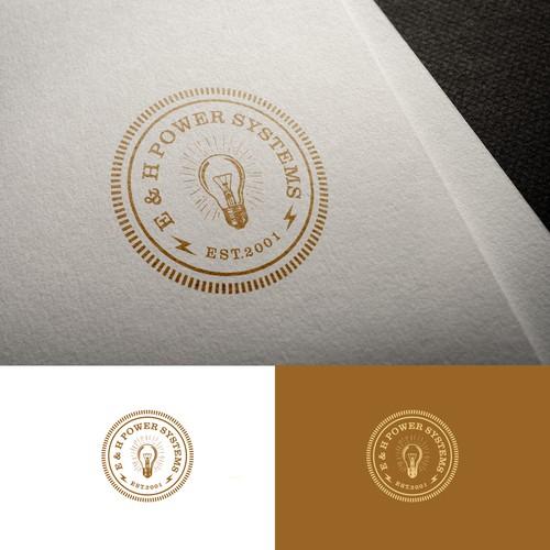 Logo for E&H Power Systems