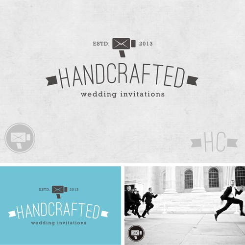 New logo wanted for Handcrafted - Wedding Invitations