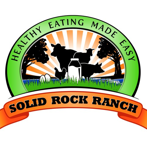 Solid Rock Ranch needs a creative logo to sell their healthy food :)