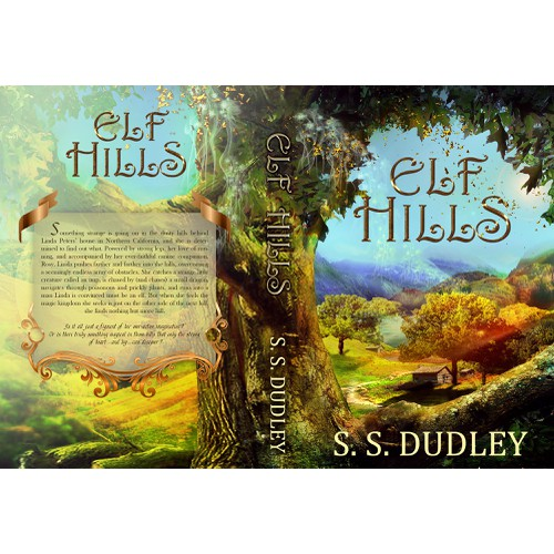 Book cover for children's fantasy novel based in the CA countryside