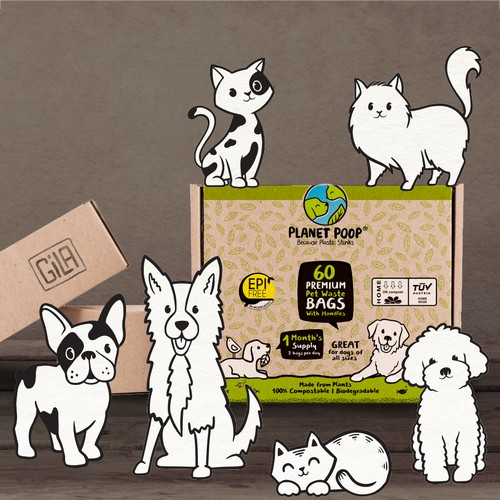 Packaging design/ pet industry
