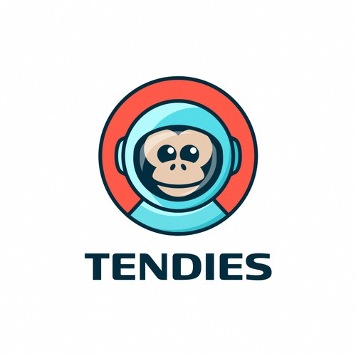 Playful-youthful logo concept for Tendies