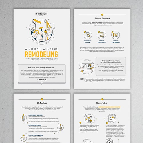 E-Book Infographic for Home Renovation Company