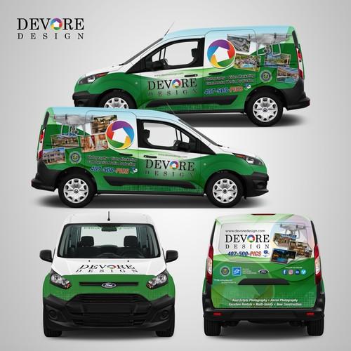 Car Wrap for Devore Design