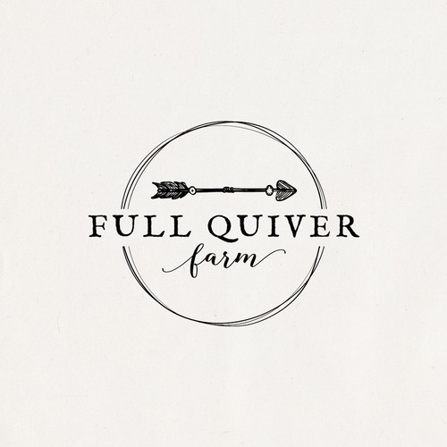 Full Quiver Farm logo design