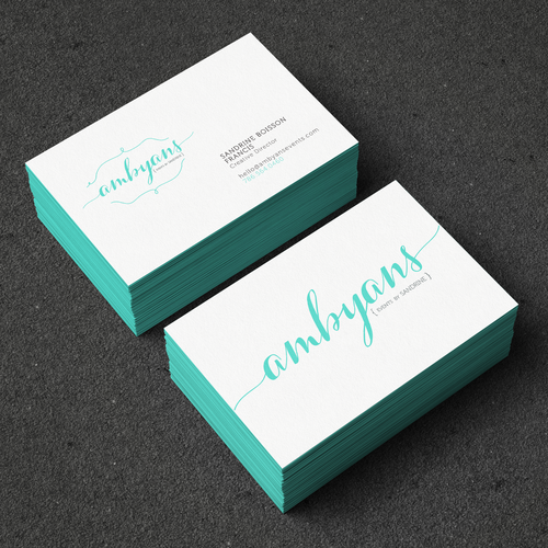 Create a logo for a start up boutique event design company