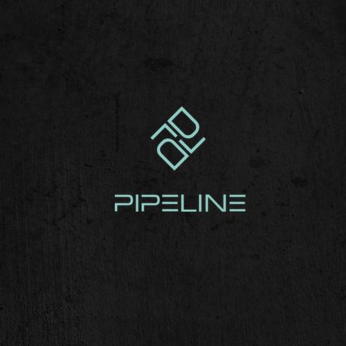 "Logo for ""Pipeline"" water-tech program"