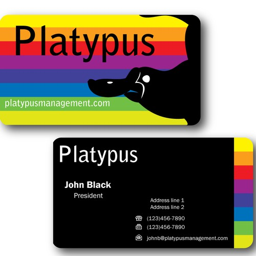Create the next stationery for Platypus