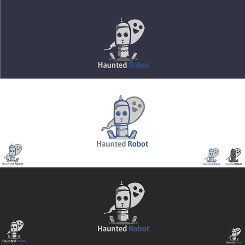 New iOS company, Haunted Robot, needs a logo