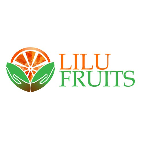 Colorful logo for fruits and vegetables vendor