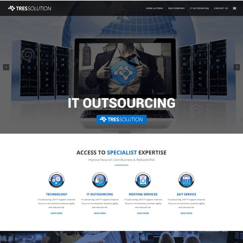 Webdesign IT Outsourcing
