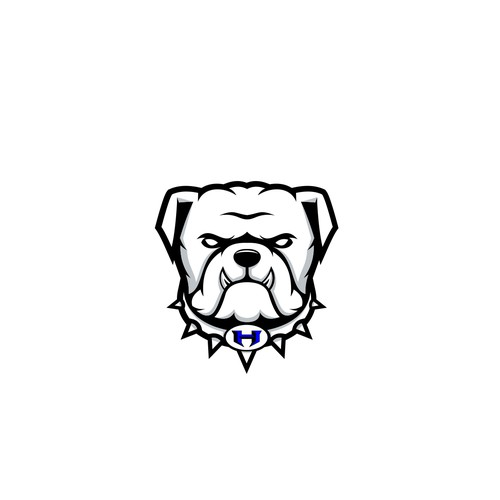 Bulldog High Logo