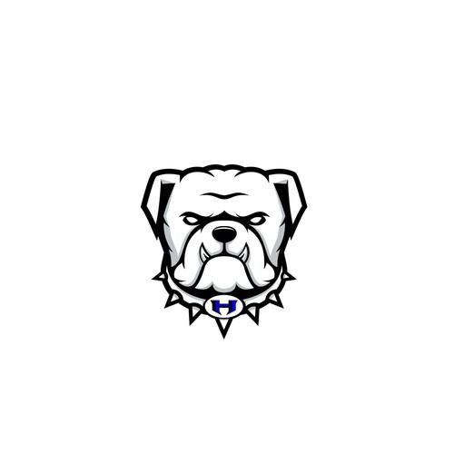 Bulldog High Logo