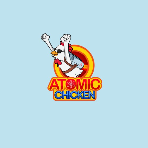 """Logo for a Fried chicke resto that is aimed for """"hipster"""" kids"""