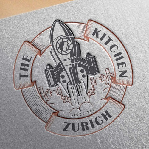 A logo for « the kitchen»
