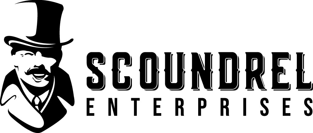What a scoundrelous enterprise! A gentleman rogue, and a coder needs a logo!