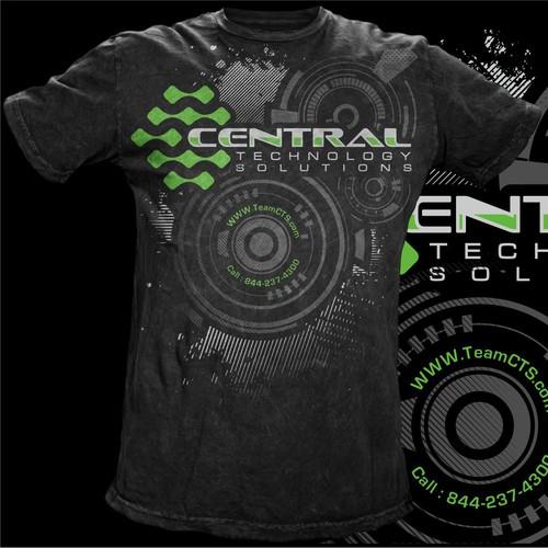 "Tshirt Design for ""CENTRAL TECHNOLOGY"""