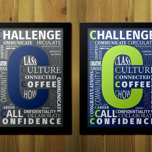 "Creative ""C"" Words Poster"