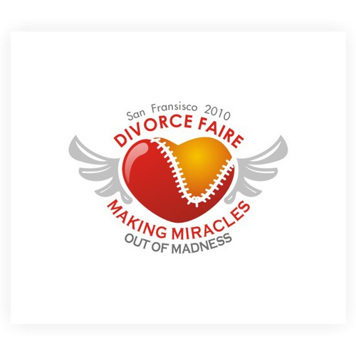 logo design for divorce faire