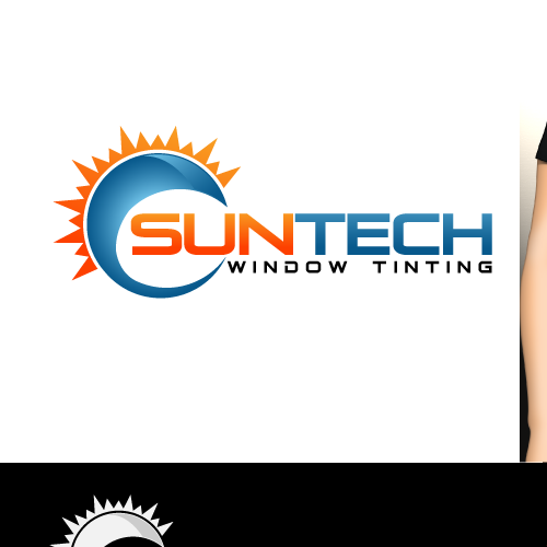 COOL Window Tint Logo Design!
