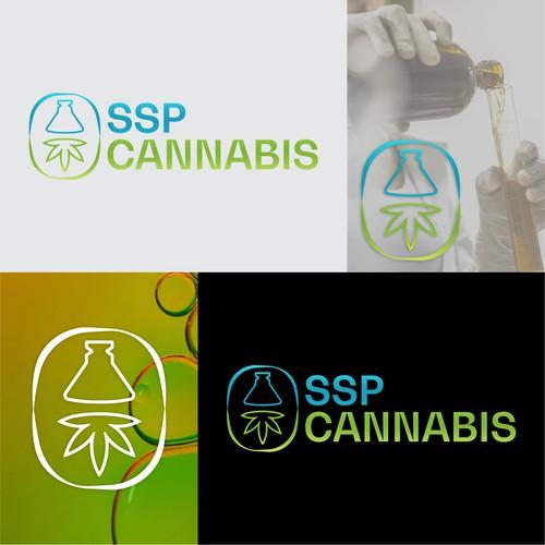 SSP Cannabis Logo Design