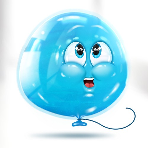 3D Baloon Character