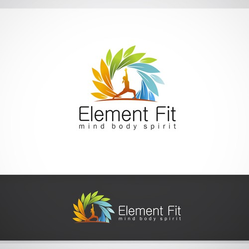 Create a logo that symbolises modern mind, body and spirit health.