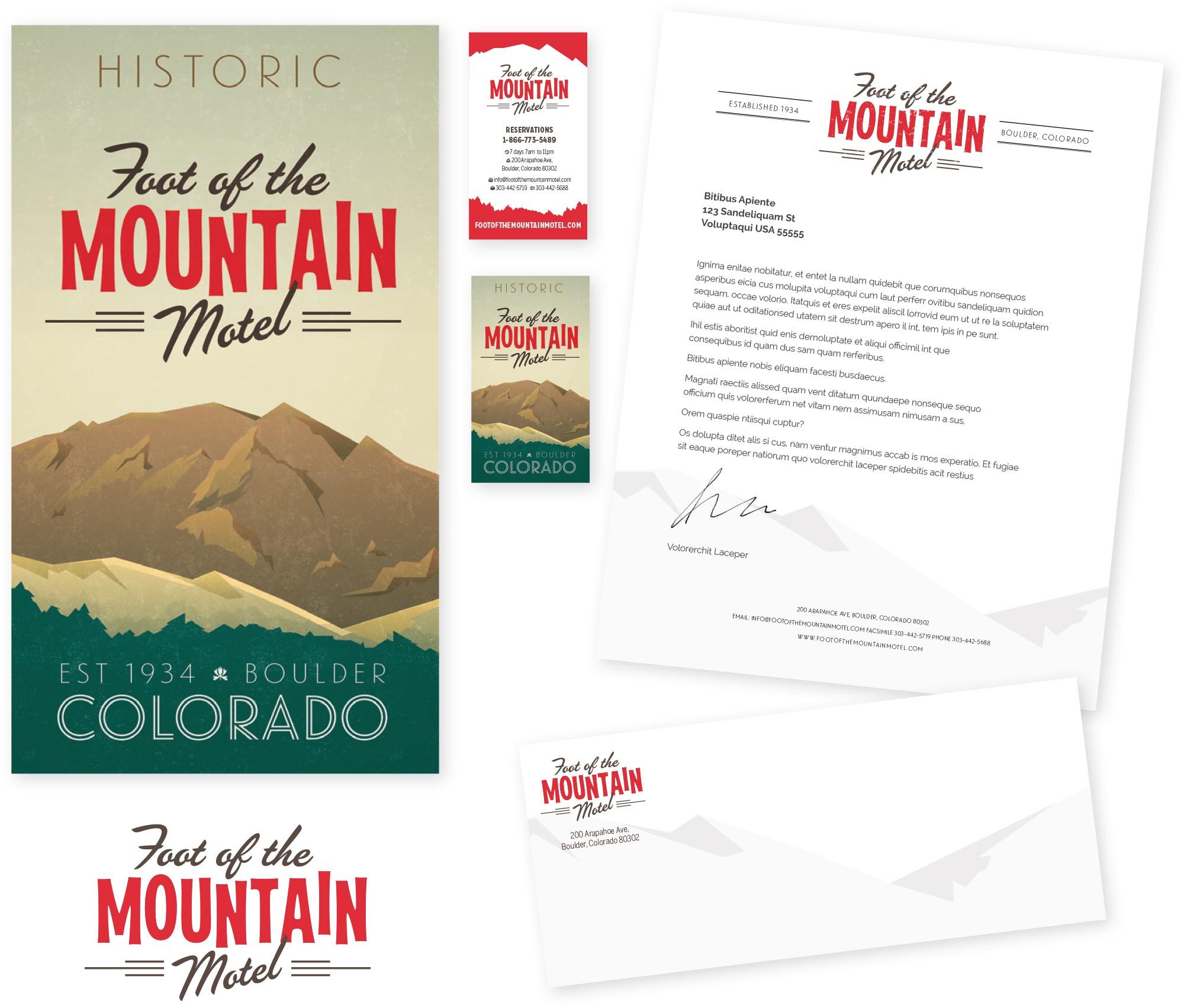 Brand Refresh for Vintage Log Cabin Motel in Boulder, CO
