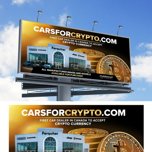 Billboard carsforcrypto