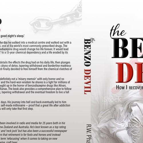 Book cover design concept