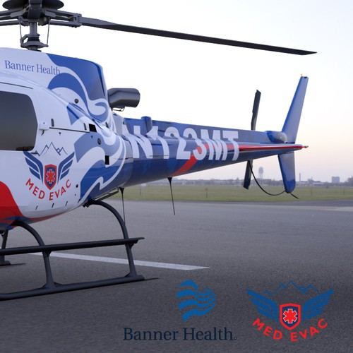 Med Evac Helicopter Livery