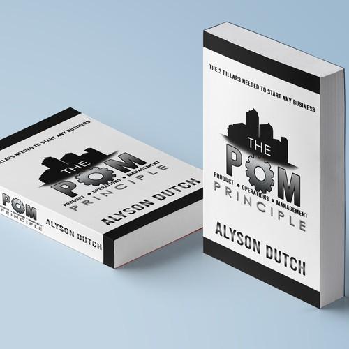 book cover design for POM Principle