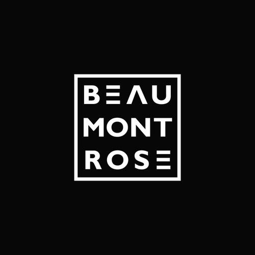 Beaumont Rose Glazers logo design.