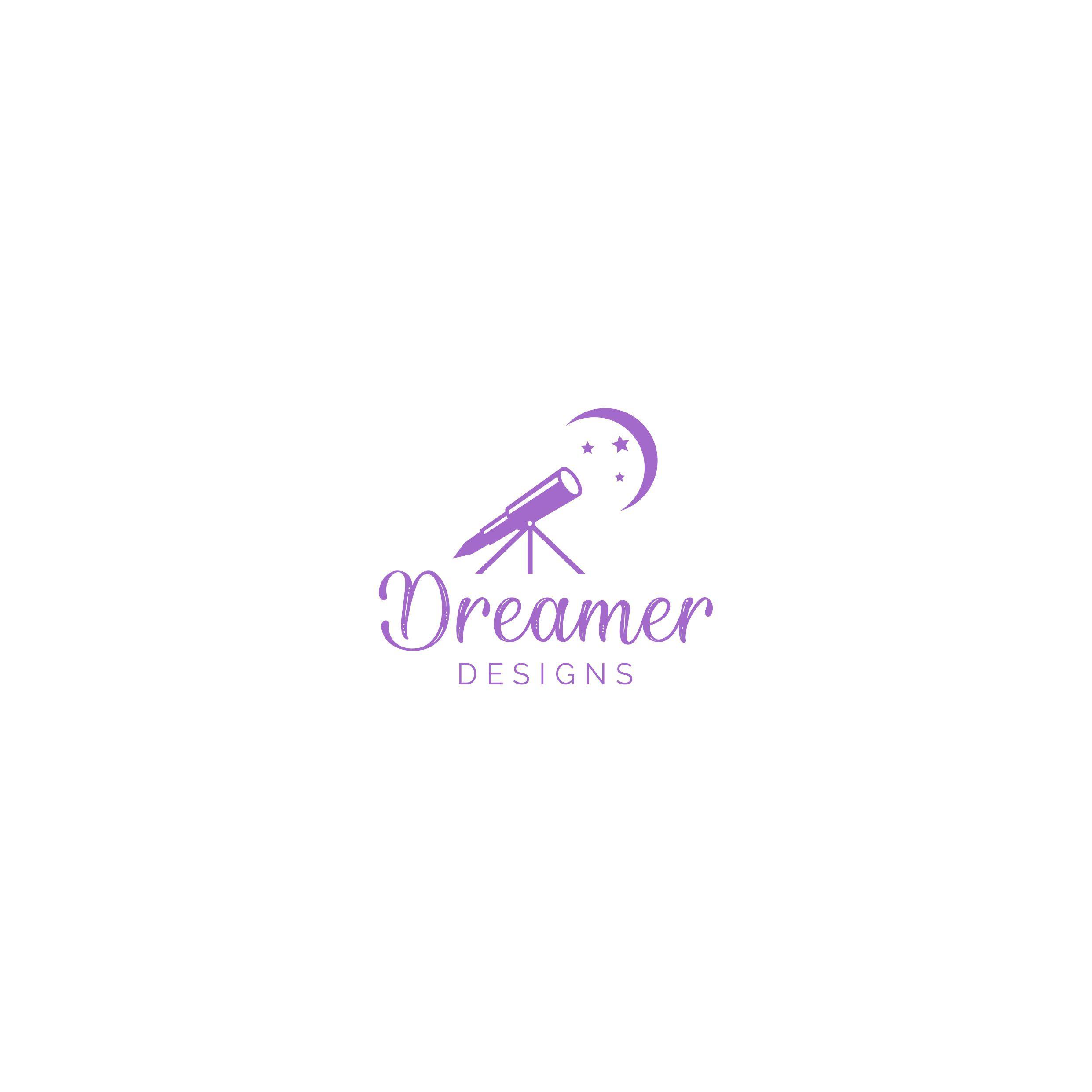 Design a modern/artsy logo for Dreamer Designs website.