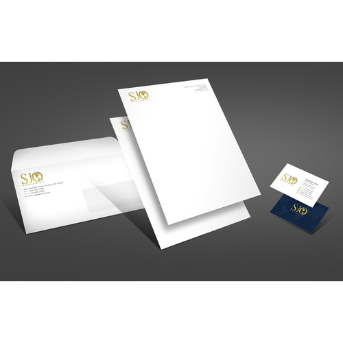 Create the next stationery for SJO Worldwide