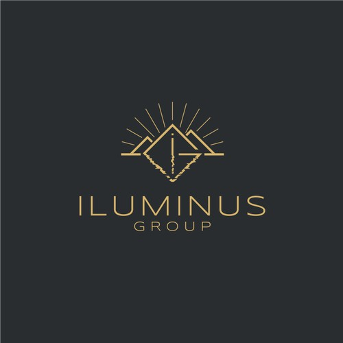 ILUMINUS: Logo for a upscale residential real estate development company