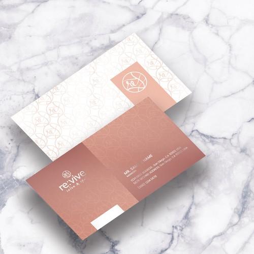 Revive spa Businesscard