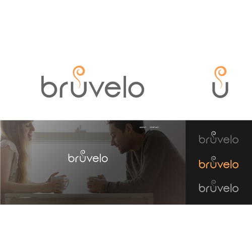 Create a logo for Bruvelo that's modern, yet pays respect to the vintage.