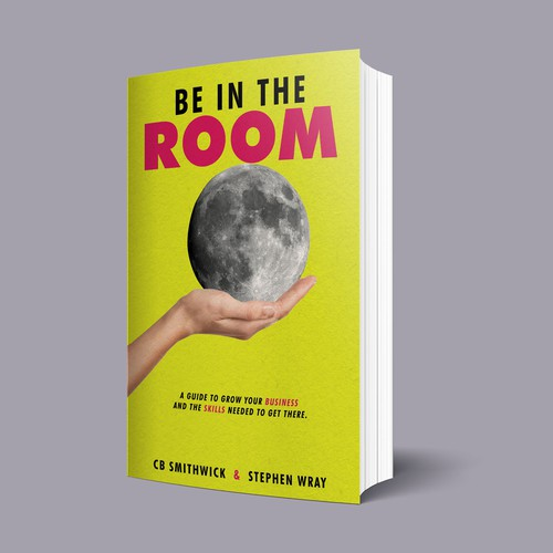 Another Book Cover Concept for Be In The Room
