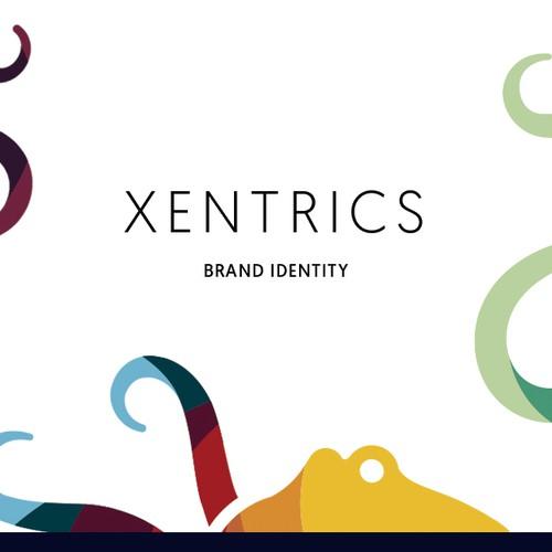 Xentrics Brand Identity