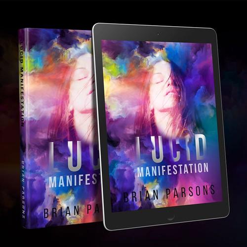 Book Cover concept for Lucid Manifestation