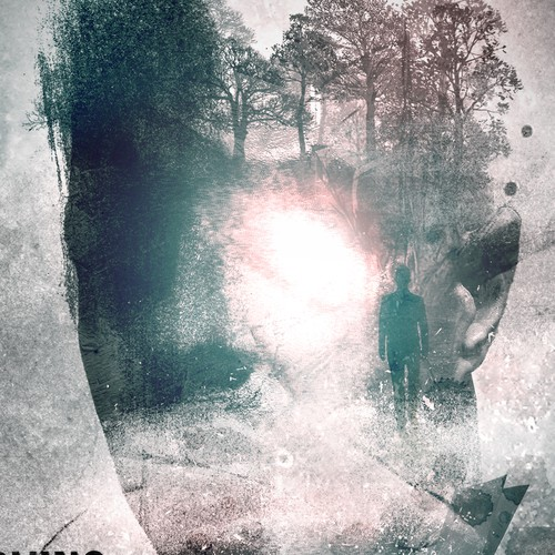 Design a book cover that's indistinguishable from those of major publishers