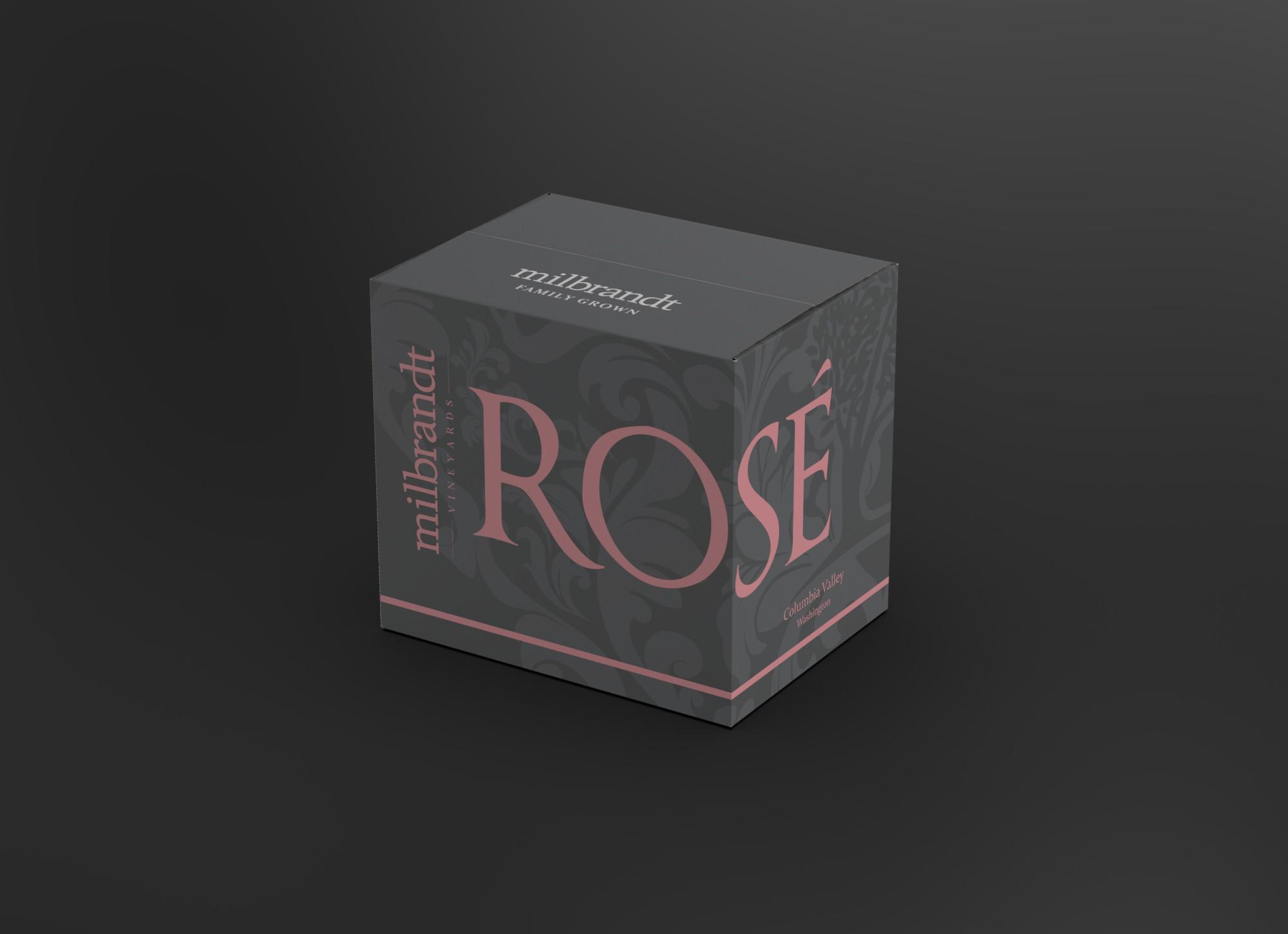 Milbrandt Rosé Shipper